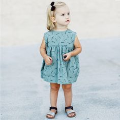 This pretty dress from Rylee and Cru will make every little girl who likes their food happy thanks to the lovely licorice pattern. Perfect for this summer!