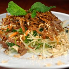 Oriental Shredded Pork Recipe | Spoonful