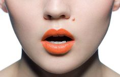 LOVE orange lips.