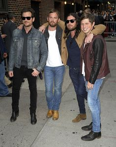 Kings of Leon (So excited for the Mechanical Bull Tour. I just love those Followills!)