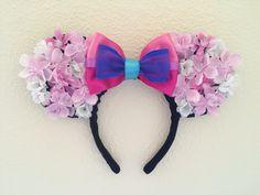 DIY Mulan Minnie Mouse ears (2014)