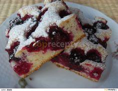 Brzi kolac s visnjama i jogurtom Polish Recipes, Gingerbread, Ale, Waffles, French Toast, Cheesecake, Cooking Recipes, Pudding, Sweets