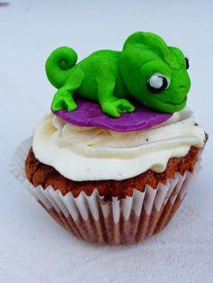 cupcake Pascal raiponce / rapunzel
