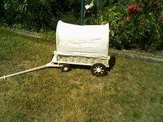 LadislavKurnota / kočovný voz s plachtov- pre malých cestovateľov Baby Strollers, Children, Tractor, Baby Prams, Young Children, Boys, Kids, Prams, Strollers