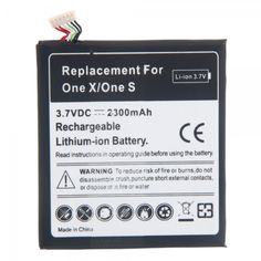 2300mAh 3.7V High Capacity Rechargeable Li-ion Battery for HTC ONE X ONE S