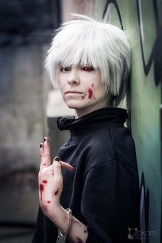 Cosplay - Kaneki Ken by Nicicia