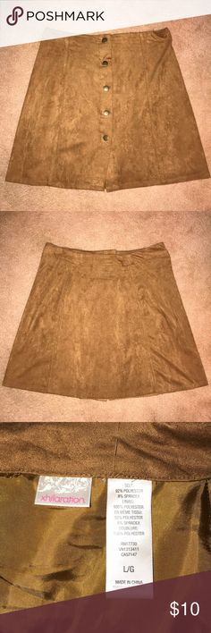 Brown skirt Never worn, still in perfect condition! Xhilaration Skirts Mini