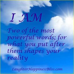 "Dr. Wayne Dyer describes the power of ""I AM"" this way, "" By observing and teaching the I AM awareness, you will become more aligned with your highest self."" This is your true nature and the path to real happiness."