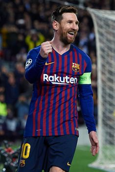 Lionel Messi of FC Barcelona celebrates after scoring his team's. Messi Soccer, Messi 10, Fc Barcelona Players, Lionel Messi Wallpapers, Neymar, Lionel Messi Barcelona, Argentina National Team, Leonel Messi, Fifa 20
