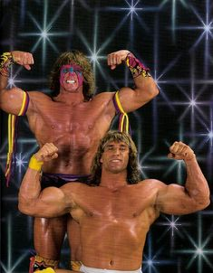 Ultimate Warrior and the Modern Day Warrior.  wwe  wwf  wrestling   prowrestling f33b83cf1c5a