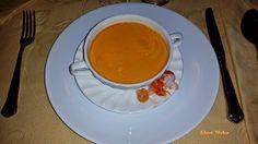 Glace moka: BISQUE DE GAMBAS  Se llama bisque a una sopa velou...