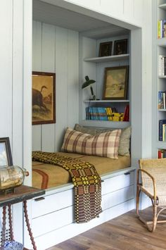Home Decoration Living Room .Home Decoration Living Room Cozy Den, Cozy Nook, Cozy Corner, Small Rooms, Small Spaces, Sleeping Nook, Guest Bedrooms, Tiny Bedrooms, Blue Bedrooms