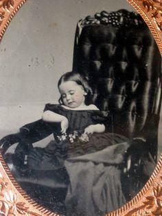 gorgeous tintype,,,postmortem