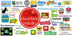 JustAddCoffee- The Homeschool Coupon Mom : 40+ Free Educational Websites! Let The Learning Begin!