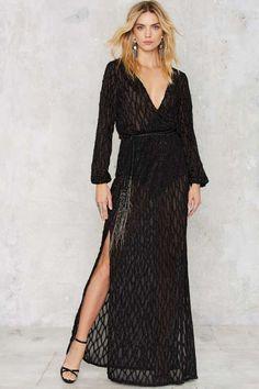 Midnight Hour Maxi Dress - Dresses : Maxi
