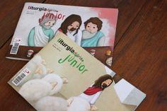 Magazine - Liturgia diária Júnior by Rita Duque, via Behance