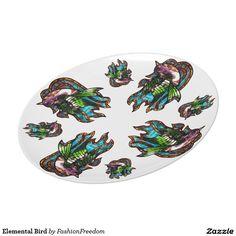 Elemental Bird Plate
