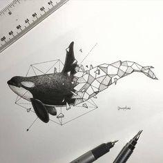 A+mistura+de+realismo+com+geometria+marca+o+trabalho+desse+ilustrador