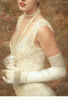 98165d2bad91c3 Vintage Lady Suknie Ślubne, Prezenty, Przeszłość, Ryczące Lata 20, Stroje  Kobiece,