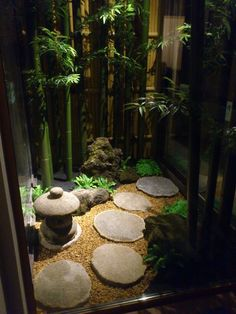 Zen garden ideas are getting more and more popular and a reasonable way for relax. You might even design a little Zen garden in your dwelling. Full instructions about how to make a mini zen garden you're in a position to find here. Small Japanese Garden, Mini Zen Garden, Japanese Garden Design, Garden Art, Atrium Garden, Japanese Gardens, Indoor Zen Garden, Indoor Herbs, Garden Oasis