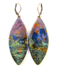 Polymer Clay Earrings  Fabulous Faux Collection  by DivaDesignsInc $24.00