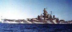USS Alabama in Casco Bay, Maine Dec 1942