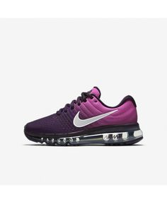 wholesale dealer a72e6 dde67 Chaussure Nike Air Max 2017 Femme Violet dynastie Rose feu Crème de pêche  Blanc sommet