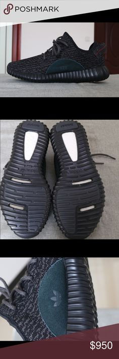 6a7cc5977febe Adidas by Kanye West Yeezy Boost 350 Pirate Black Follow us on Twitter   https   twitter.com SneaksOnFiree