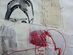 Paint + stitch: Fact of seeing by gerfotos, via Flickr