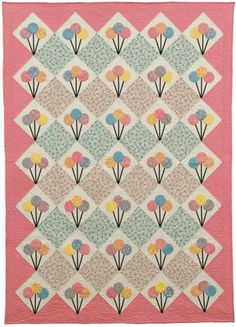 Lollipop-Quilt by FabTalk, via Flickr