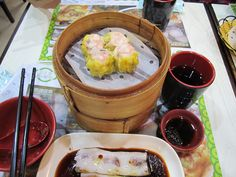 rice rolls & shrimp dim sum @ tim ho wan