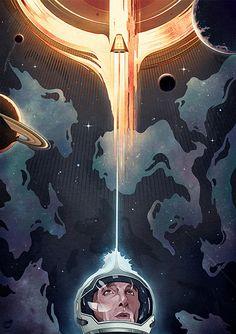 25 Mind-Blowing Interstellar Posters   The Design Inspiration