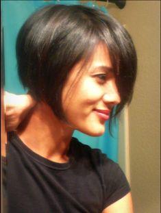 My short bob haircut