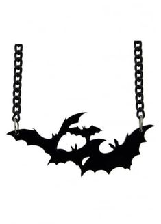 Flying Bats Necklace, £4.99