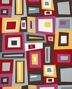 Kona Modern Quilts by Cynthia Frenette for by CottonBlossomFarm, $9.25