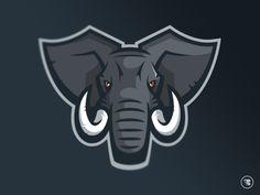 Elephant sports logo - photo#14
