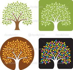 tree logo images | Tree Logo Illustration | Stock Vector © Eric Tufford #9309059