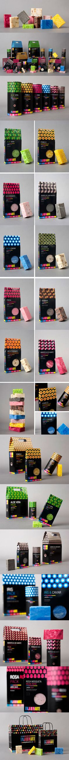 Enjabonarte #packaging #soaps #soappackaging #design #branding #identity #corporate #business #marketingPD