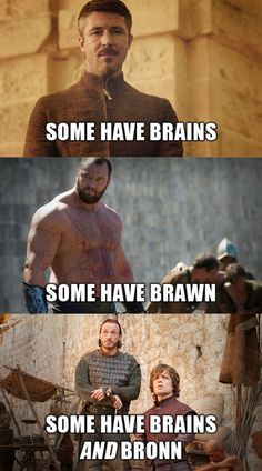 Each player in the Game of Thrones has their strengths…