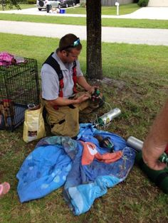 Firefighters Save Puppies with Tiny Oxygen Masks