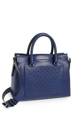 MARC BY MARC JACOBS 'Know When to Fold Em - Jina' Leather Satchel   Nordstrom