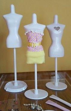 Bandai Harumika Fashion Dress Form Playset/Doll Clothes Mannequins/Accessorize
