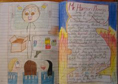 "grader Savannah's memory of me and how I'm pretty ""tongue in cheek"" with her… Writing Ideas, Creative Writing, Readers Notebook, 5th Grade Writing, You Can See Me, High Expectations, Interactive Notebooks, Savannah Chat, Literacy"