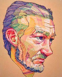 Fragments: Unique Portraits by Lui Ferreyra | Inspiration Grid | Design Inspiration