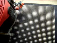 Creating halftone pictures with a CNC machine | Hackaday