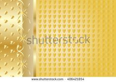 52nd anniversary party poster party invitation background gold luxury heart pattern invitation background vector illustration for art print stopboris Choice Image
