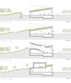 Gallery of Passive House Pavilion of Longfor Sundar / SUP Atelier - 36 - Passi. - Gallery of Passive House Pavilion of Longfor Sundar / SUP Atelier – 36 – Passive House Pavili - Architecture Concept Drawings, Green Architecture, Sustainable Architecture, Residential Architecture, Architecture Details, Futuristic Architecture, Rendering Architecture, Architecture Diagrams, Chinese Architecture