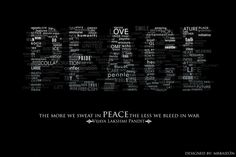 The more we sweat in Peace, the less we bleed in war.  Yoga Quote