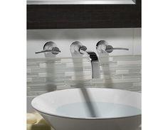 Robinet mural pour lavabo et vasque Boulevard - American Standard - voir si robinetterie douche coordonné.