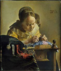 Salvador Dalí | The Lacemaker (after Vermeer) | The Met